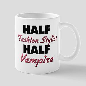 Half Fashion Stylist Half Vampire Mugs