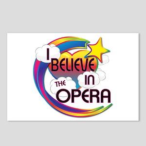 I Believe In The Opera Cute Believer Design Postca
