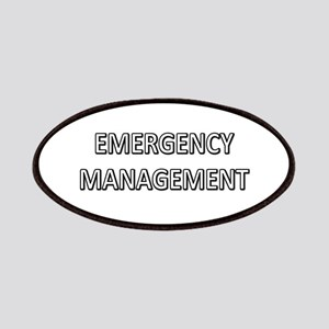 Emergency Management - White Patches