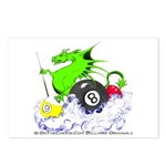 Pool Dragon Billiards Postcards (Package of 8)