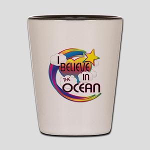 I Believe In The Ocean Cute Believer Design Shot G