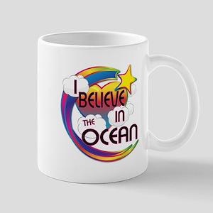 I Believe In The Ocean Cute Believer Design Mug