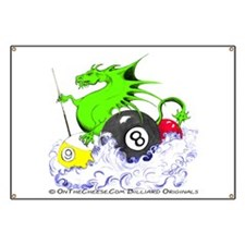 Pool Dragon Billiards Banner