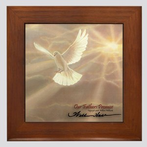 """Our Fathers Promise"" Fine Art Framed Tile"