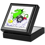 Pool Dragon Billiards Keepsake Box