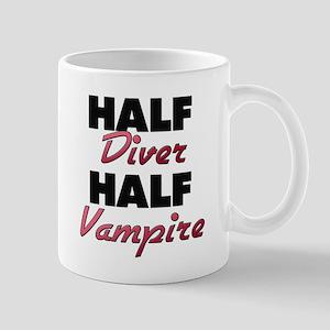 Half Diver Half Vampire Mugs