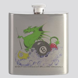 Pool Dragon Billiards Flask