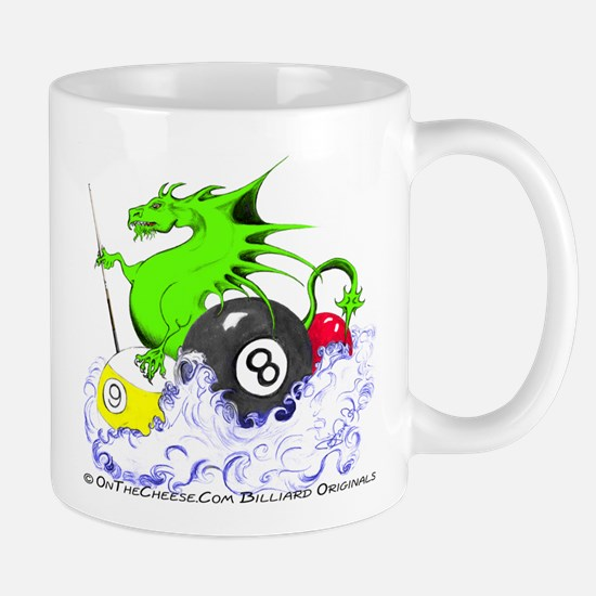 Pool Dragon Billiards Mug