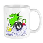 Pool Dragon Billiards Mug