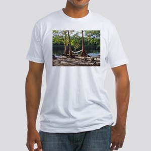 Fisheating Creek -Lazy Days Fitted T-Shirt