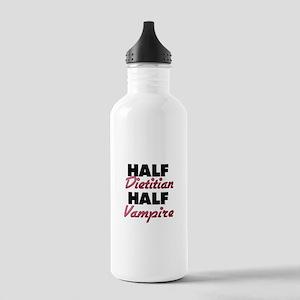 Half Dietitian Half Vampire Water Bottle
