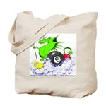 Pool Dragon Billiards Tote Bag