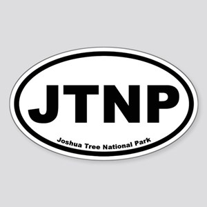 Joshua Tree National Park Oval Sticker