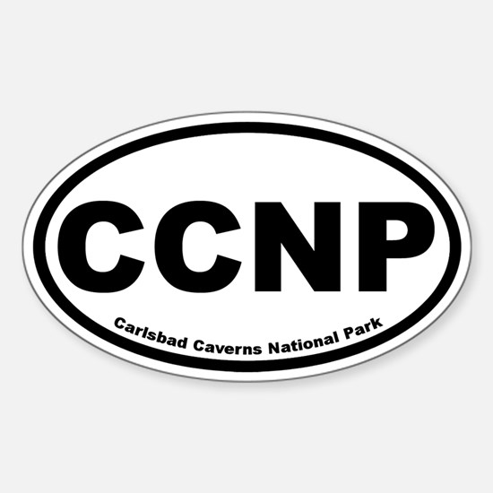 Carlsbad Caverns National Park Oval Decal