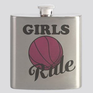 Girls Rule Flask