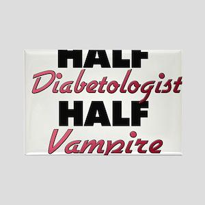 Half Diabetologist Half Vampire Magnets