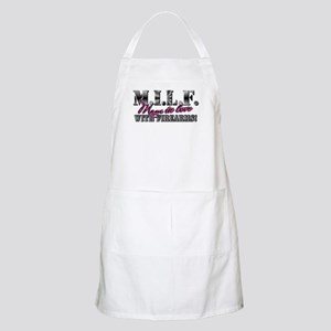 M.I.L.F. - Moms in love with firearms Apron