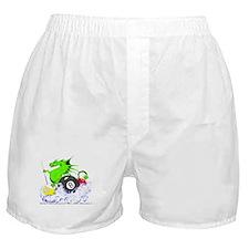Pool Dragon Billiards Boxer Shorts