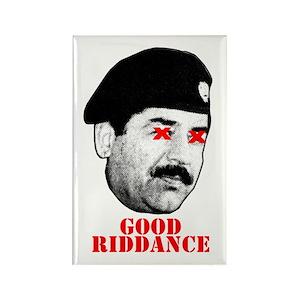 42bd806e176 Saddam Magnets - CafePress