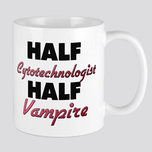 Half Cytotechnologist Half Vampire Mugs