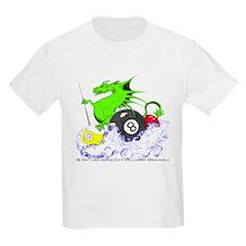 Pool Dragon Billiards Kids Light T-Shirt