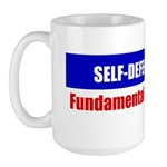 Self-Defense is Fundamental Large Mug