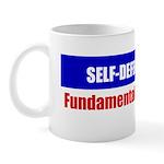 Self-Defense is Fundamental Mug