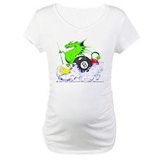 Pool Dragon Billiards Maternity T-Shirt
