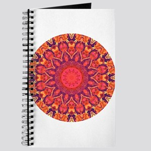 Sunburst Mandala Journal