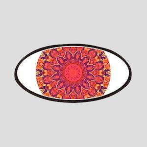 Sunburst Mandala Patches