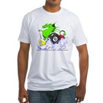 Pool Dragon Billiards Fitted T-Shirt