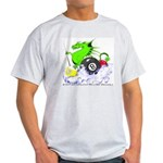 Pool Dragon Billiards Light T-Shirt