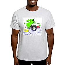 Pool Dragon Billiards Light T-Shirt