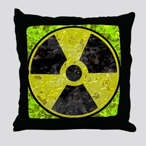 totally rad Throw Pillow