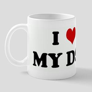 I Love MY DST Mug