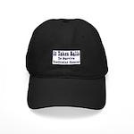 It Takes Balls Black Cap