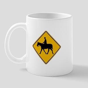 Equestrian Traffic - USA Mug