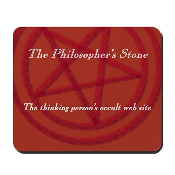 The Philosopher's Stone Mousepad