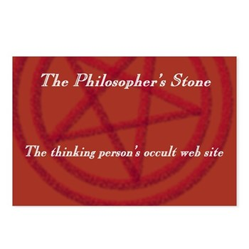 The Philosopher's Stone Postcards (Package of 8)
