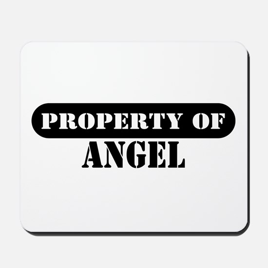 Property of Angel Mousepad