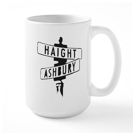 Haight Ashbury Large Mug