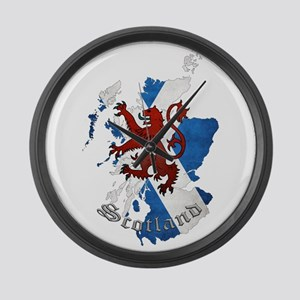 Scottish Heritage Design Large Wall Clock