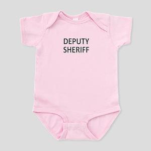 Deputy Sheriff - Black Infant Bodysuit