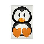 Cute Penguin Rectangle Magnet (10 pack)