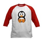 Cute Penguin Kids Baseball Jersey