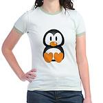 Cute Penguin Jr. Ringer T-Shirt
