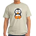 Cute Penguin Ash Grey T-Shirt
