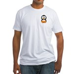 Cute Penguin Fitted T-Shirt