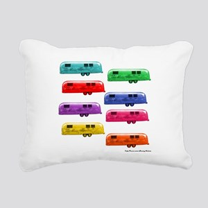 Airstream trailers candy Rectangular Canvas Pillow