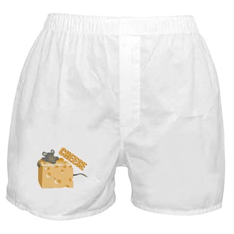 Mouse 'n Cheese Boxer Shorts